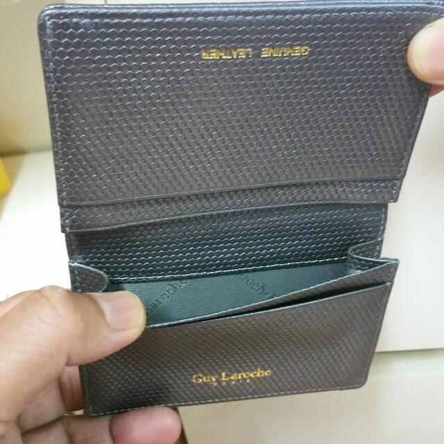 Authentic Guy Laroche Small Wallet/Cardholder