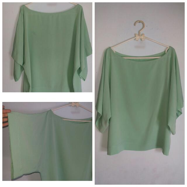 Baby Green TOP /MINT GREEN