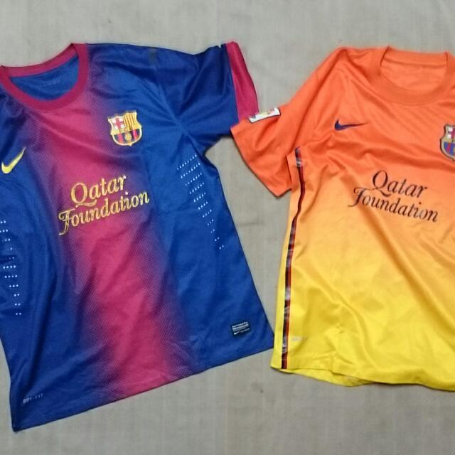 Baju Jersey Bola Barcelona