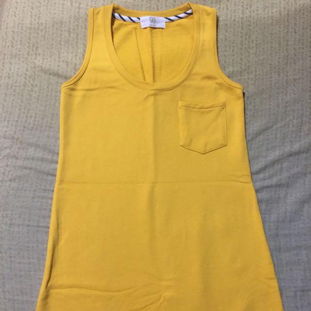 Bayo yellow summer dress