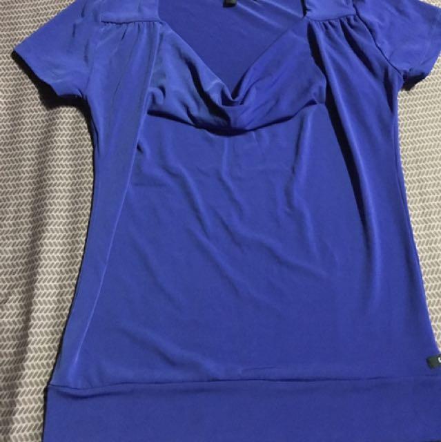 Blue Blouse By Kamiseta