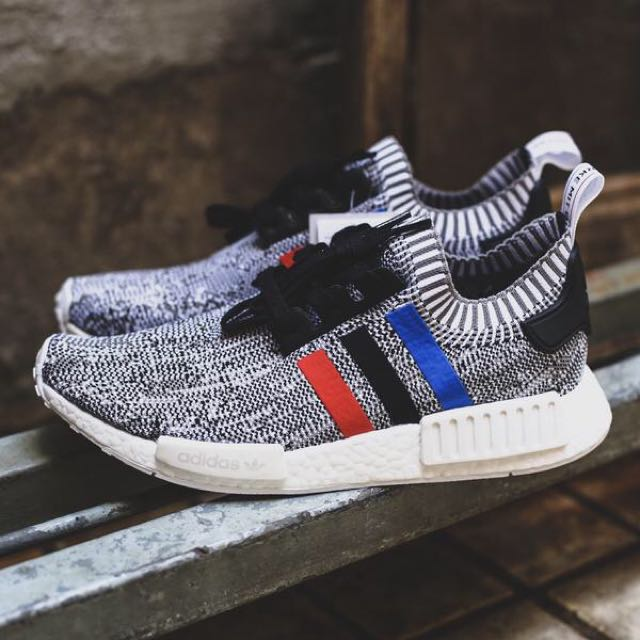 74155125c PRICE REDUCED!! BNIB ADIDAS NMD TRICOLOR WHITE UK 9