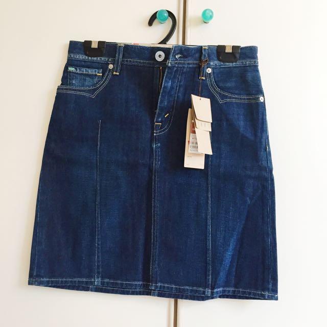 790de35da4 BNWT Levi's A Line Denim Skirt, Women's Fashion, Clothes, Pants ...