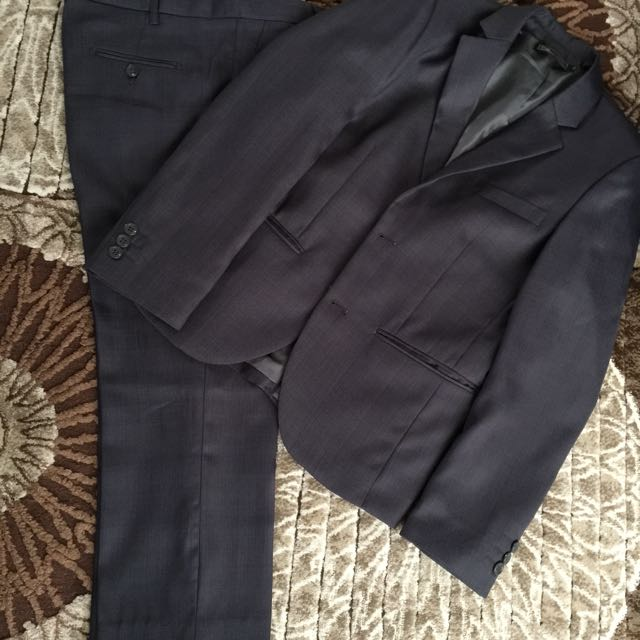 Boys Formal Grey Suit Size 13