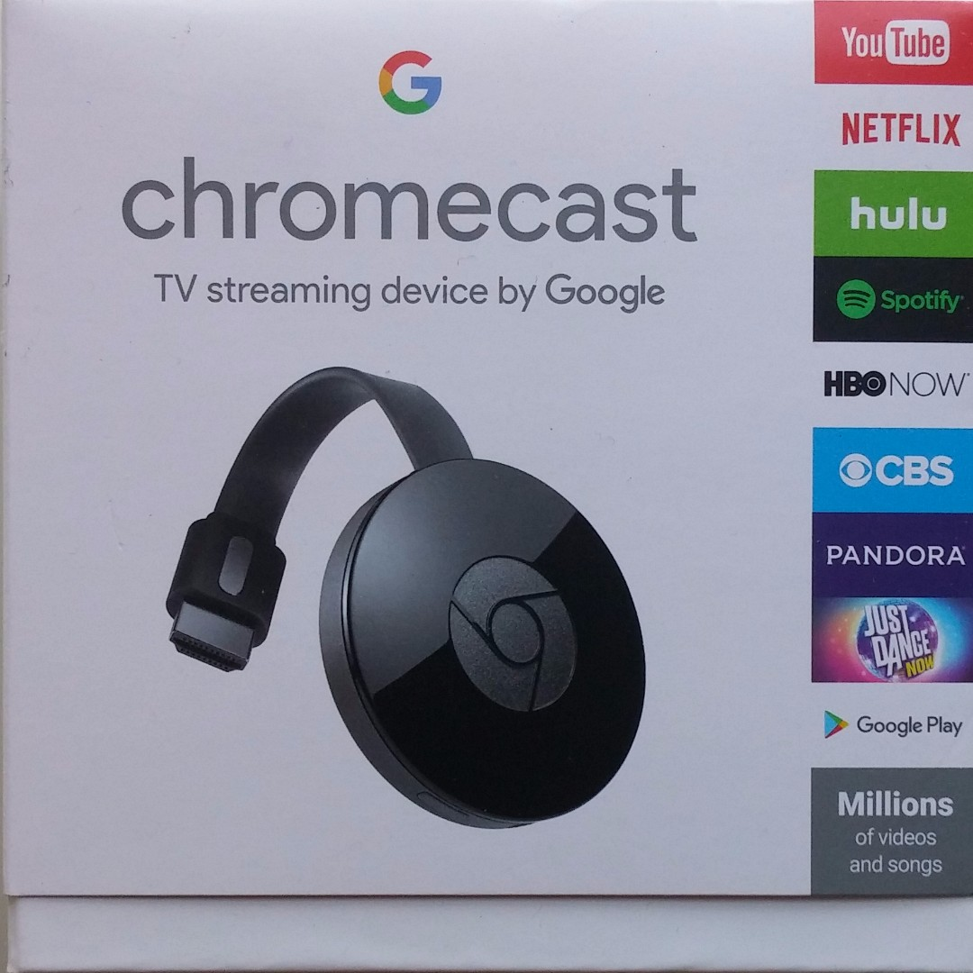 Brand New in Box 100% AUTHENTIC GOOGLE ChromeCast Directly from the US! Let's Make a Deal!