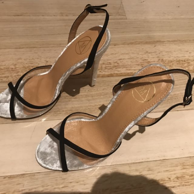 Brand New. Only Tried On. Missguided Size 7 Sling Back Heels Stiletto
