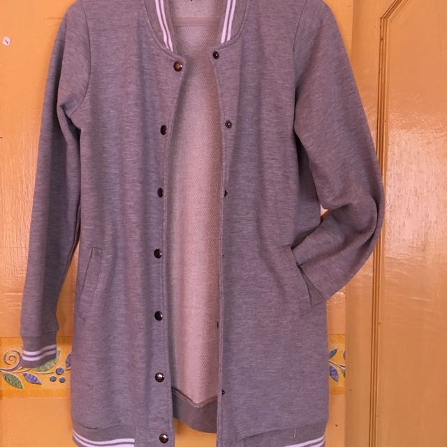 cardigan varsity jacket