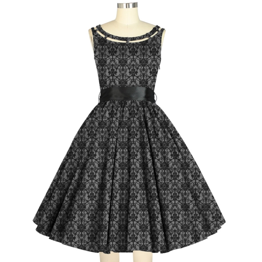 Chicstar retro Willow Tea dress gothic size 18 rrp $70