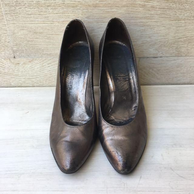 Christian Dior Metallic Heels