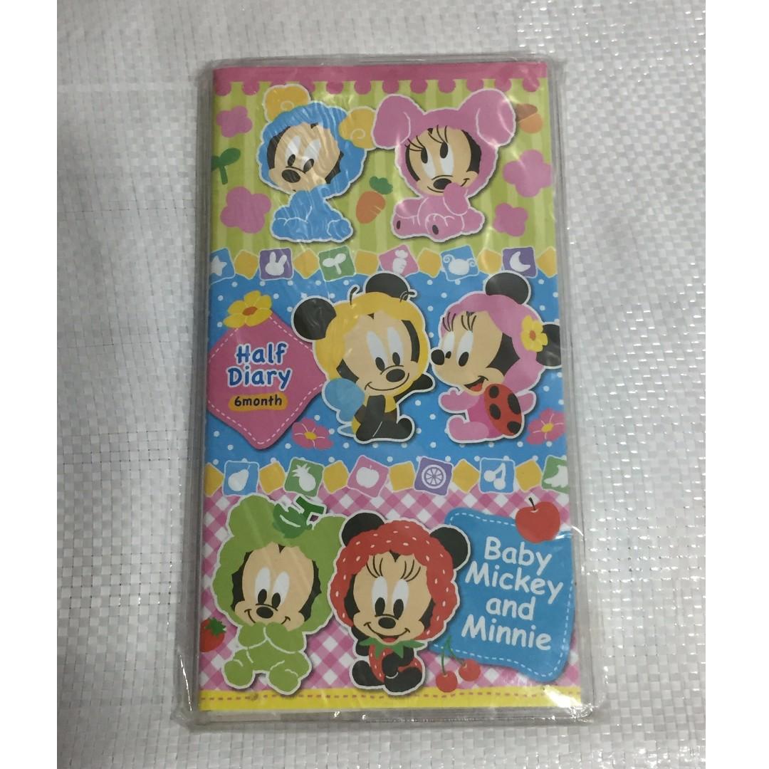 Disney 迪士尼 米奇 米妮 計畫本 Mickey Mouse Minnie 辦公室小物