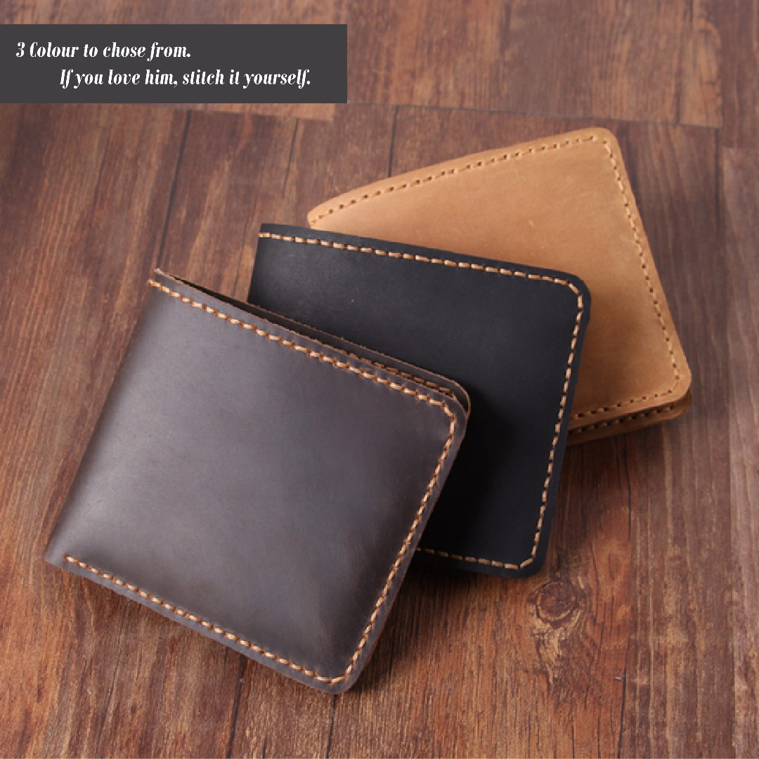 Diy Leather Wallet Men S Fashion Bags Wallets On Carousell