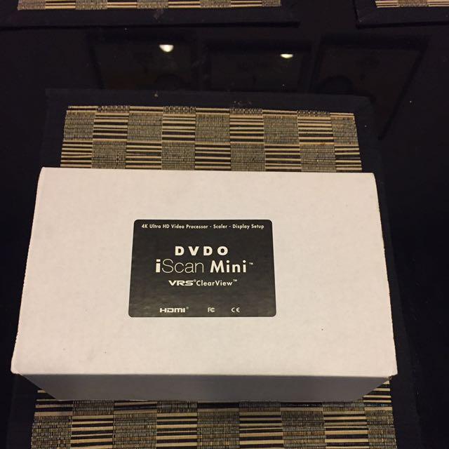 DVDO iscan Mini - 4K Scaler/video enhancer