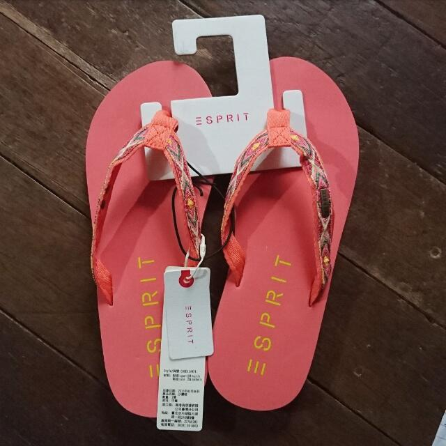 Esprit Summer Slippers Size 7 And 8