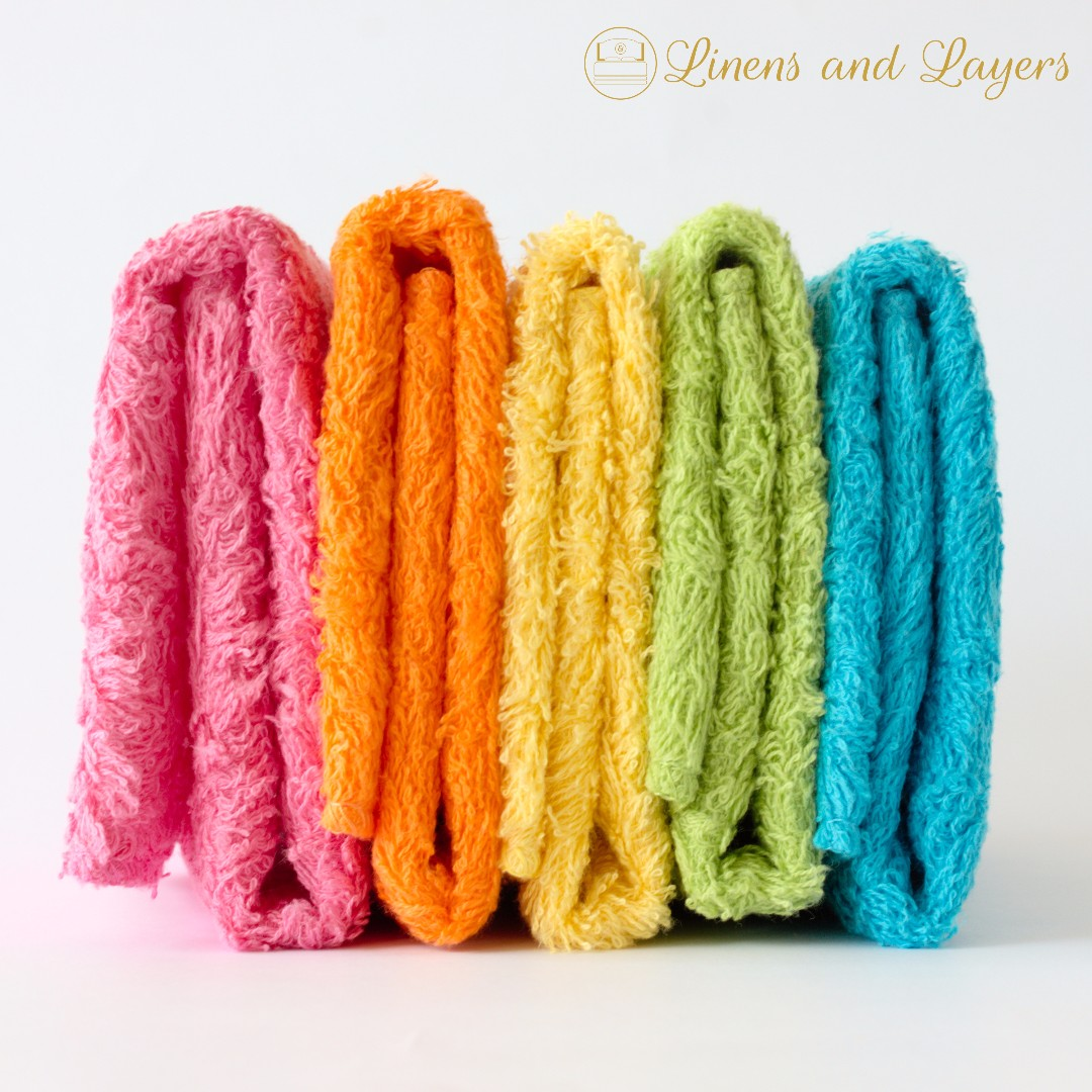 Face Towel - Olympic - DK1212 - Bright Colors
