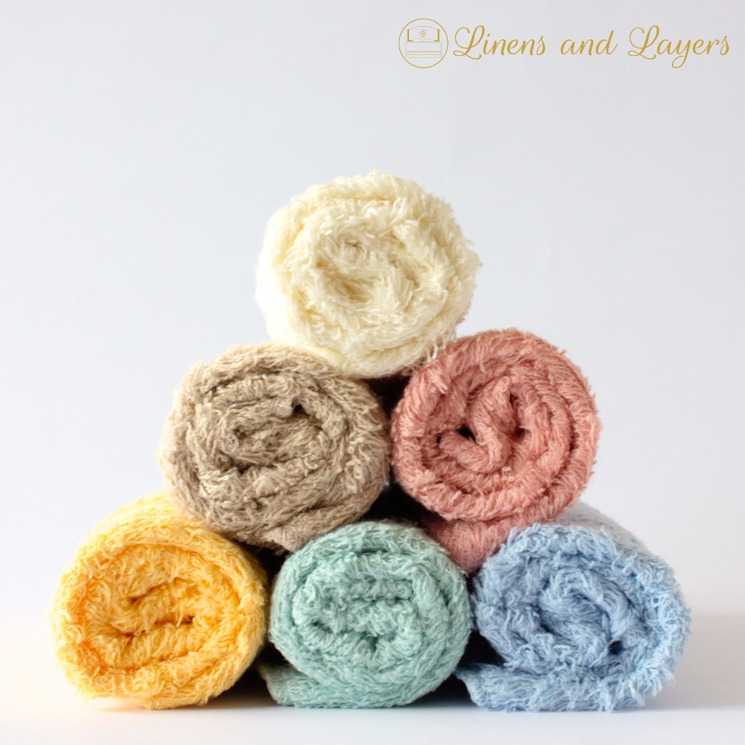 Face Towel - Olympic - DK1212 - Pastel Colors