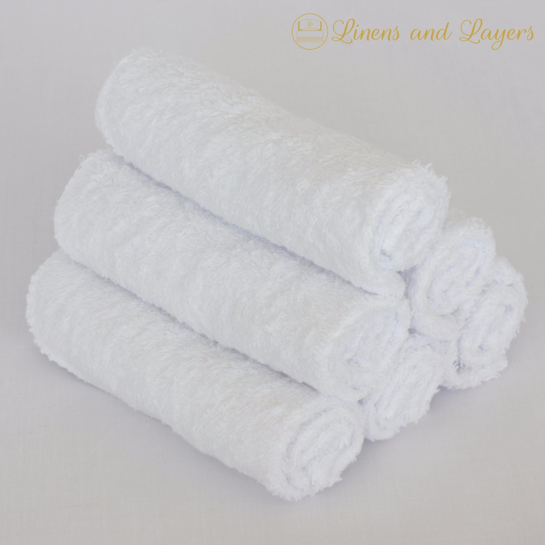 Face Towel - Olympic - DK1212 - White