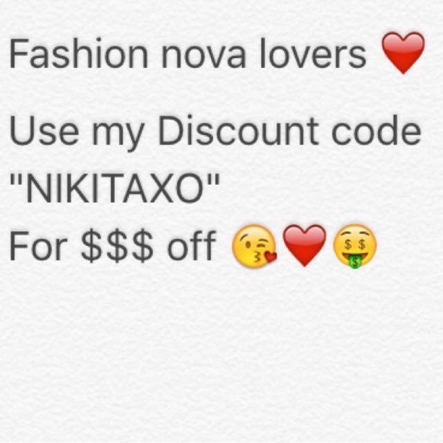 Fashion Nova coupon