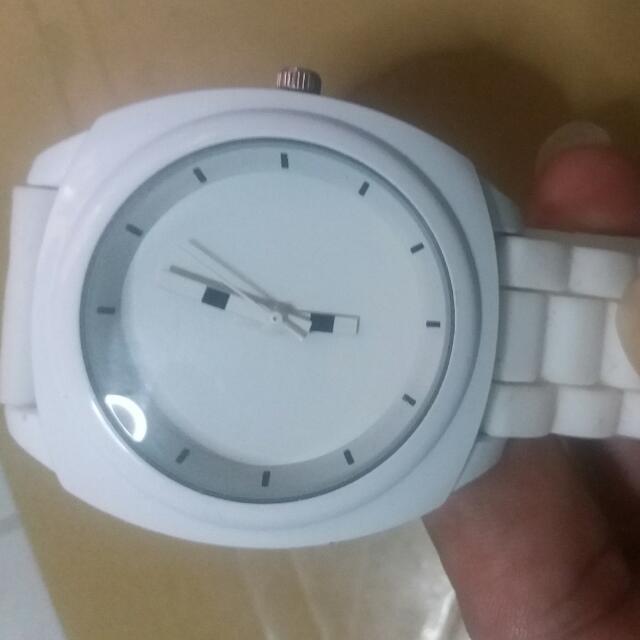 Fashion White Watch