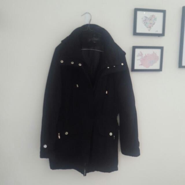 Fleet Street Size L Womens Showerproof Coat