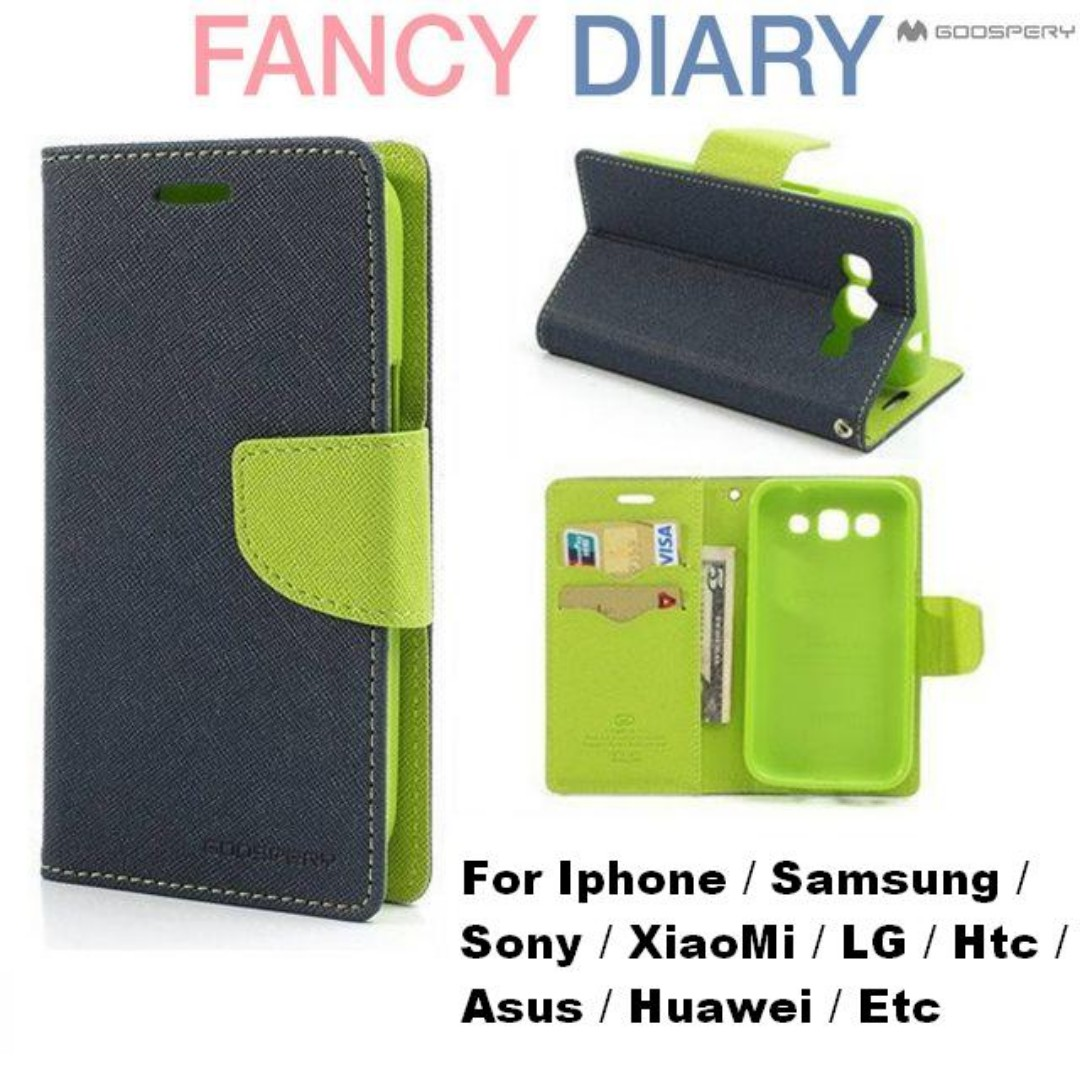 Mercury Goospery Fancy Diary For Samsung Galaxy Note 3 Neo Case 5 Bravo Wine Red Free Postage Flip With 2 Card Slots And Can Stand