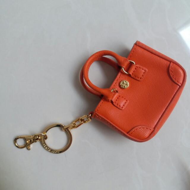 Gantungan Kunci Key Tory Burch Authentic