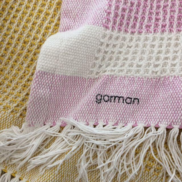 gorman waffle blanket