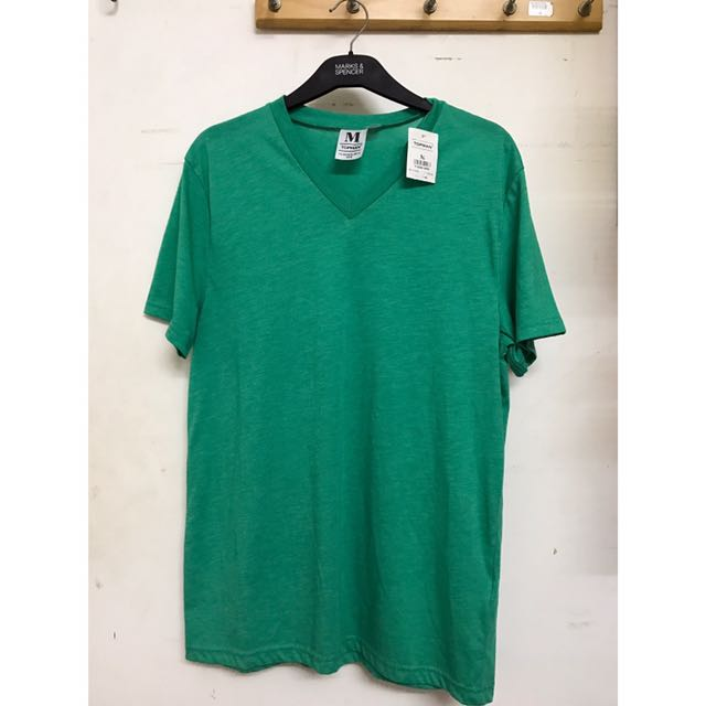 Green Tshirt Topman (Original & New)