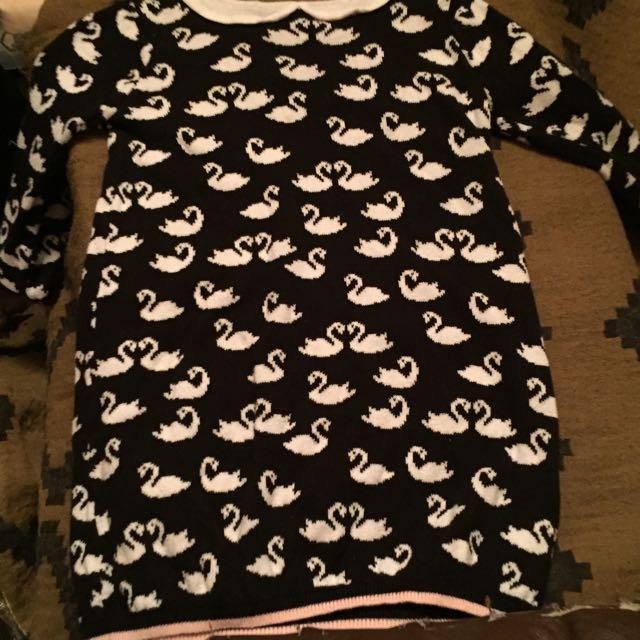 Gymboree Black Swan Dress