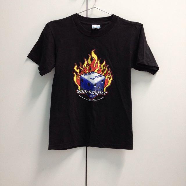 Hanes/火焰骰子/短袖T恤