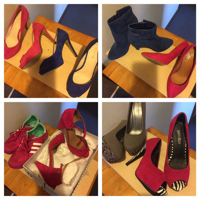Heels! All Size 7 In Pre Loved Condition