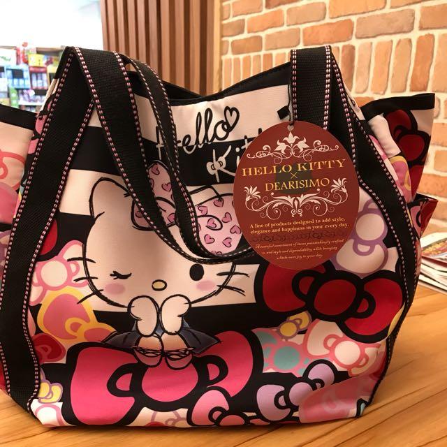 Hello Kitty 防水布袋
