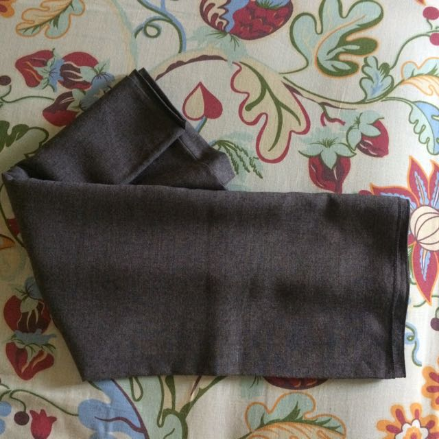 Hijab Square Denim Grey