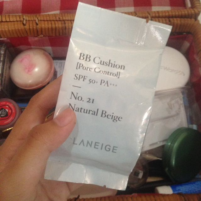 Laneige BB Cushion Refill Pore Control