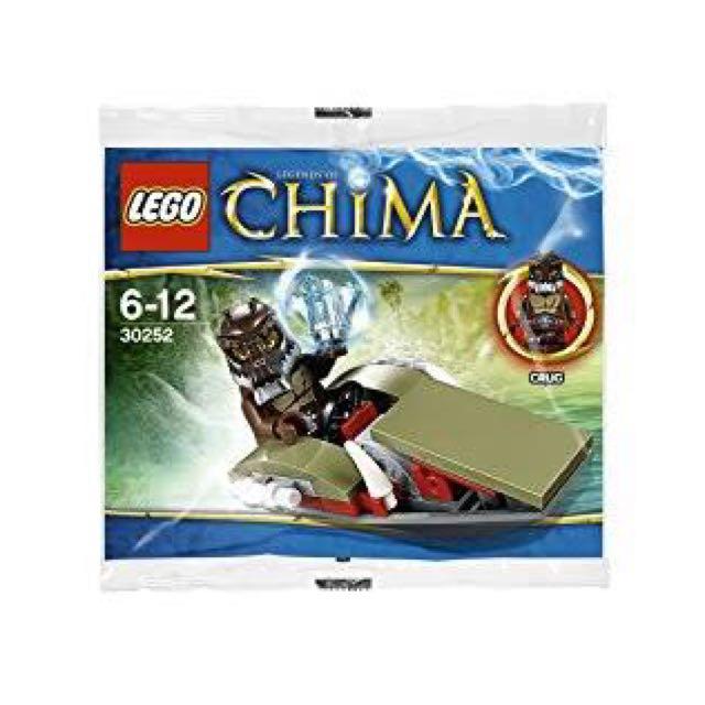 Lego CHIMA Crug's Swamp Jet 30252