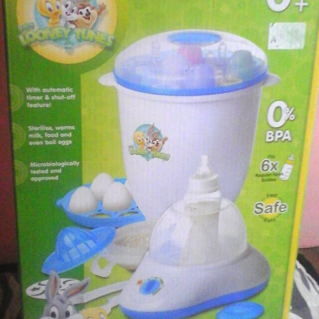 Looney Tunes Multi- Purpose Rapid Steam And Sterilizer