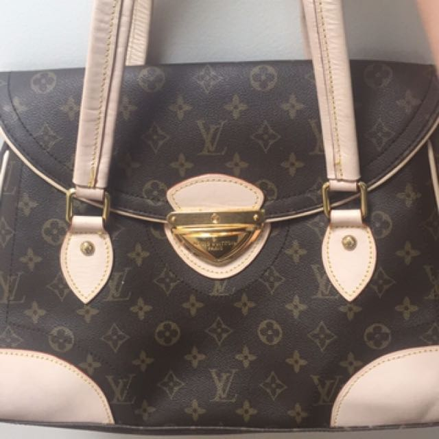 Louis Vuitton Leather Bag Replica