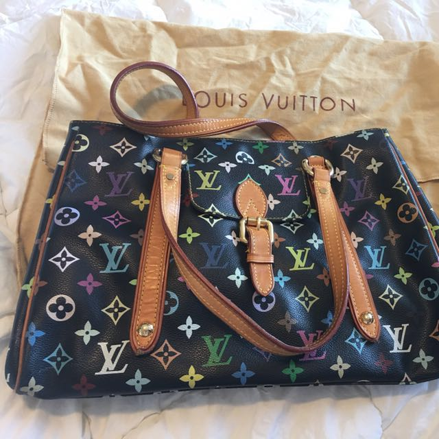 LOUIS VUITTON Multicolor Aurelia MM