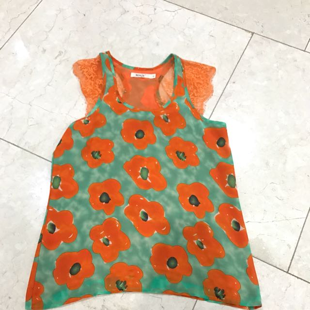 Maje Flower Top