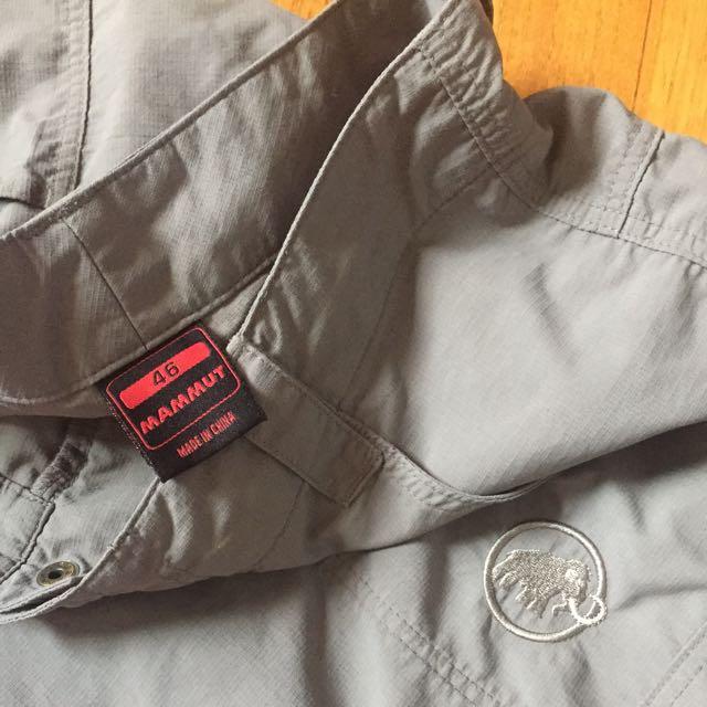 Mammut Soft Shell Pants Shorts Zippable