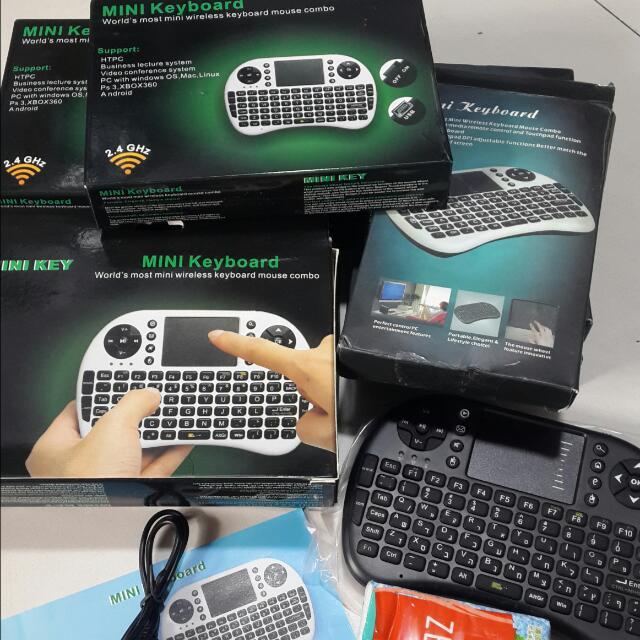 Mini Keyboard (有黑色﹐白色)