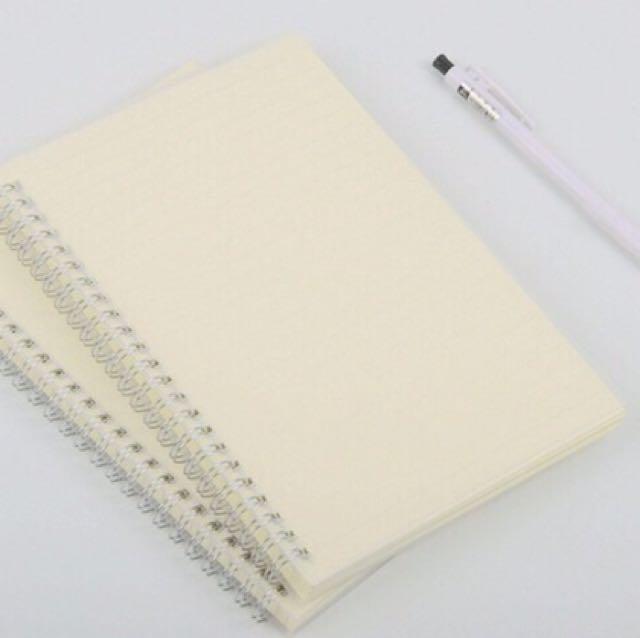 MUJI Inspired Notebooks (A5 size)