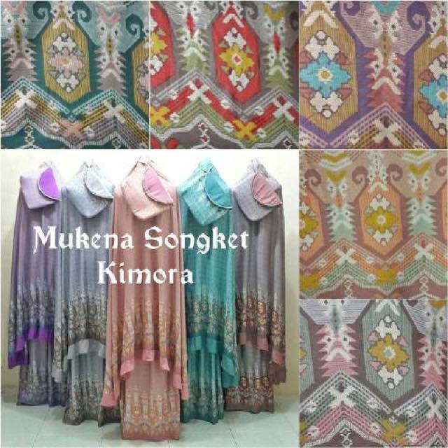 Mukena Songket Kimora