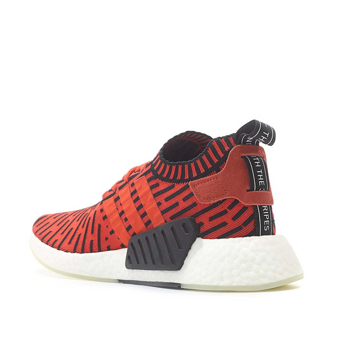 cac974eb0 NEW Adidas Originals NMD R2 Primeknit Runner Boost Core Red BB2910 ...