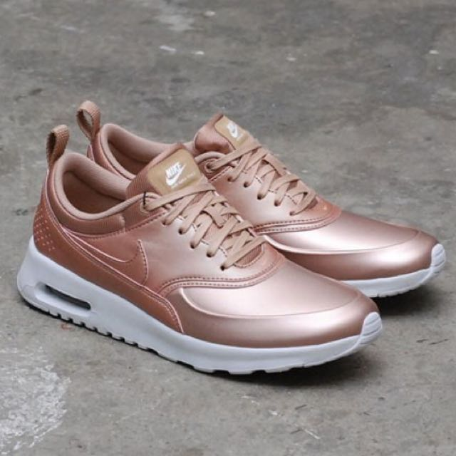 db6bbd7e7800c9 Nike Air Max Thea SE Metallic Rose Gold