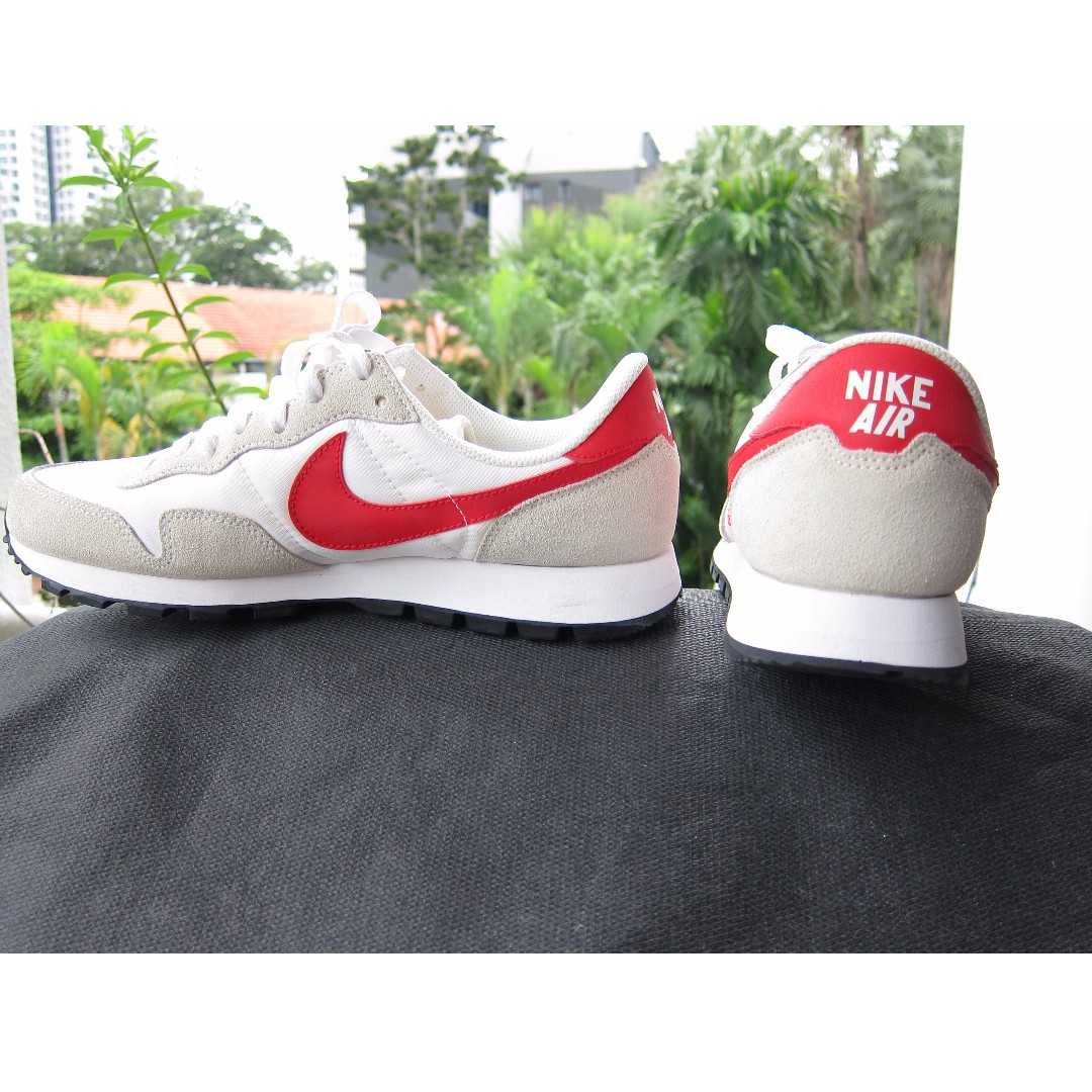 delicate colors good out x great prices NIKE AIR PEGASUS 83, WHITE / CHILLING RED - SUMMIT WHITE - BLACK ...