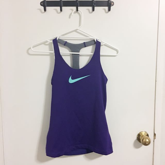 Nike Gym Singlet With Built In Bra Support