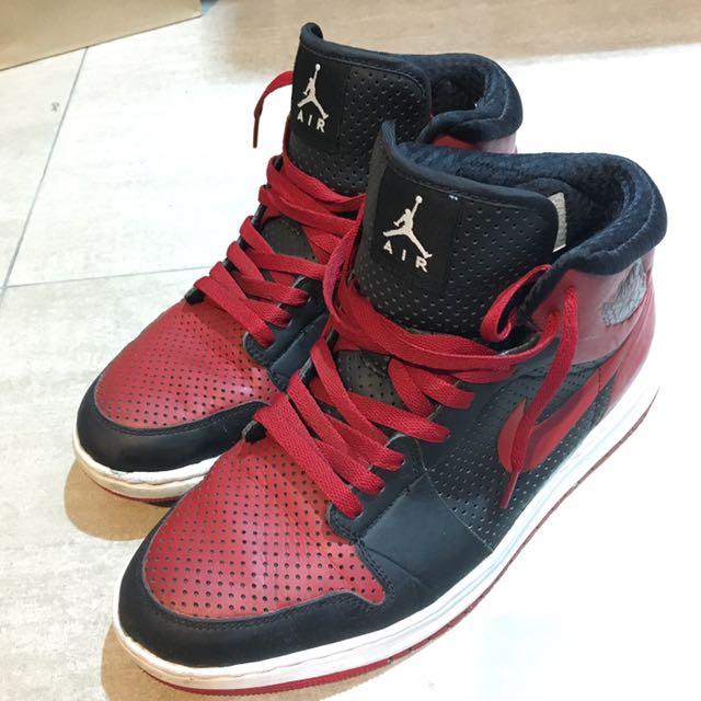 Nike ID Air Jordan 1 Alpha Bred, 運動休