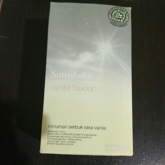 Oriflame Nutrishake Vanilla