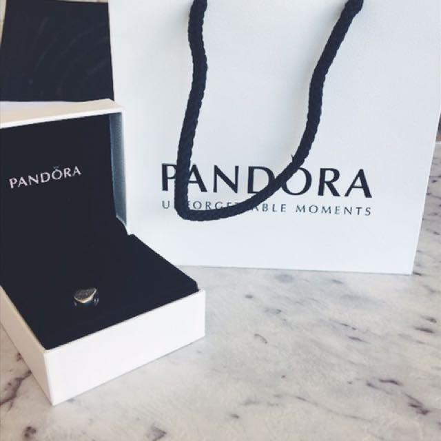 """Pandora Charm """"I Love You"""""""