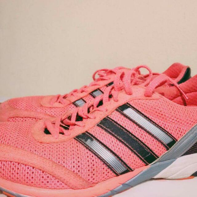 AUTHENTIC PINK ADIDAS RUNNING SHOES